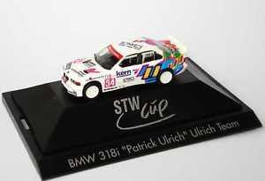 【送料無料】模型車 スポーツカー 187 bmw 3er320i e36 stw1997ウーリッヒチームnr34パトリックウーリッヒ  herpa 036634