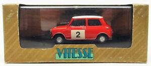 【送料無料】模型車 スポーツカー スケールオースティンモーリスミニクーパー#ラリーvitesse 143 scale ra2318a austin morris mini cooper 2 rac rally conversion