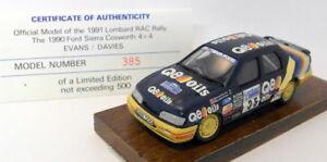 【送料無料】模型車 スポーツカー motorpro 143pro10 1991racコスワース4x4500385motorpro 143 scale resin pro10 1991 rac rally sierra cosworth 4x4 385 of 500