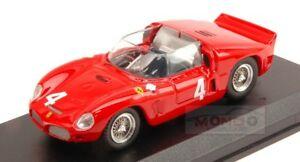 【送料無料】模型車 スポーツカー フェラーリディノ#ニュルブルクリンクアートアートメートルferrari 246 dino sp 4 nurburgring 1961 ginthergendebienvon trips art art295 m