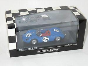 【送料無料】模型車 スポーツカー ポルシェルマン#ラカーズ143 porsche 718 rs60 le mans 24 hrs 1960 36  kerguen lacaze
