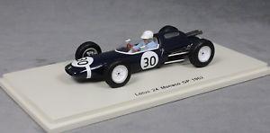 【送料無料】模型車 スポーツカー スパークモナコグランプリモーリストランティニャンspark lotus 24 1962 monaco grand prix maurice trintignant s2138 143