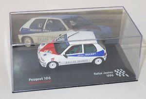 【送料無料】模型車 スポーツカー 143プジョー106ラリーjeunesフランス1996sloeb143 peugeot 106  rallye jeunes france 1996 sloeb