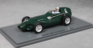 【送料無料】模型車 スポーツカー ベルギーグランプリスチュアートspark vanwall vw57 3rd belgian grand prix 1958 stuart lewisevans s4871 143