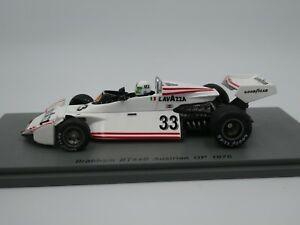 【送料無料】模型車 スポーツカー スパークロンバルディブラバムオーストリアspark 143 lella lombardi brabham bt44b austrian gp f1 1976 s7103 resin
