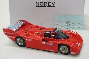 【送料無料】模型車 スポーツカー ポルシェセブリングporsche 962 imsa winner sebring 1986 5 norev 118