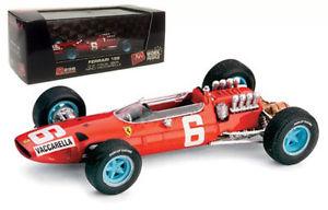【送料無料】模型車 スポーツカー brumm r296フェラーリ158イタリアgp 1965 ニノvaccarella 143brumm r296 ferrari 158 italian gp 1965 nino vaccarella 143 scale