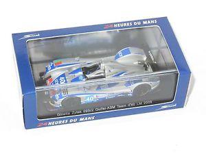 【送料無料】模型車 スポーツカー チームルマン143 ginetta zytek 09s2 quifelasm team le mans 24 hrs 2009 40