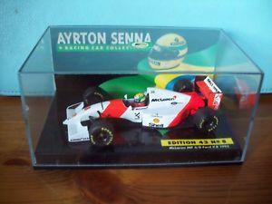【送料無料】模型車 スポーツカー 143ayrton senna08mclaren ford v8 mp48 1993143 ayrton senna no 08 mclaren ford v8 mp48 1993