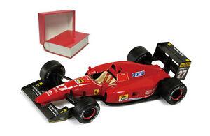 【送料無料】模型車 スポーツカー ネットワークフェラーリ#フランスグランプリジャンアレジスケールixo sf1892 ferrari f92a 27 french gp 1992 jean alesi 143 scale