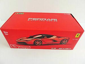 【送料無料】模型車 スポーツカー bburago 1819601 フェラーリlaferrariシリーズ118 ブラック