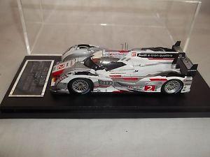 【送料無料】模型車 スポーツカー スパークアウディトロンクワトロプラスチックケースヨースト#ルマンspark audi r18 etron quattro joest 2 le mans 2012 143 in plastic case
