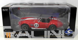 【送料無料】模型車 スポーツカー solido 118ダイカストs18500101965シェルビーコブラ427solido 118 scale diecast s1850010 1965 shelby cobra 427 red