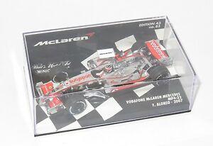 【送料無料】模型車 スポーツカー 143ヴォーダフォンマクラレンメルセデスmp422 2007シーズンフェルナンドアロンソ143 vodafone mclaren mercedes mp422  2007 season  fernando alonso