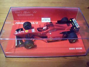 【送料無料】模型車 スポーツカー フェラーリエディーアーバイン143 ferrari 1996 f3102 eddie irvine high nose