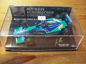 【送料無料】模型車 スポーツカー ミハエルシューマッハベネトン143 michael schumacher nr 10 benetton b193b