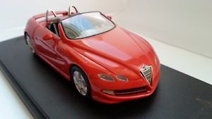 【送料無料】模型車 スポーツカー アルファロメオスケールモデルalfa romeo dardo pininfarina abc brianza 143 scale resin model
