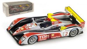 【送料無料】模型車 スポーツカー スパークアウディ#ルマンスケールspark 43lm08 audi r10 tdi 2 le mans winner 2008 143 scale