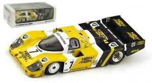 【送料無料】模型車 スポーツカー スパークポルシェ#マンルマンスケールspark 43lm85 porsche 956 7 man le mans winner 1985 143 scale