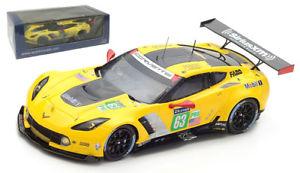 【送料無料】模型車 スポーツカー スパークコルベットコルベットレーシング#ルマンスケールspark s5831 corvette c7r corvette racing gm 63 le mans 2017 143 scale