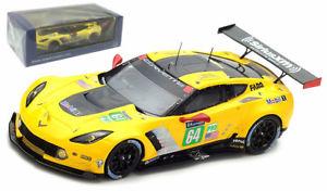 【送料無料】模型車 スポーツカー スパークコルベットコルベットレーシング#ルマンスケールspark s5832 corvette c7r corvette racing gm 64 le mans 2017 143 scale