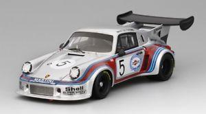 【送料無料】模型車 スポーツカー ポルシェカレラ#マティーニブランズハッチスケールメートルporsche 911 carrera rsr 5 martini brands hatch 1974 true scale 143 tsm430154 m
