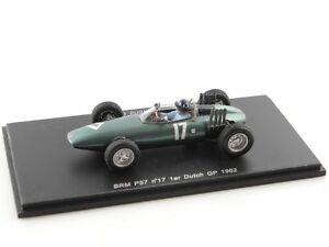 【送料無料】模型車 スポーツカー ヒルオランダトイレスパークf1 brm p57 hill dutch gp wc 1962 143 spark s1625