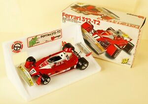 【送料無料】模型車 スポーツカー フェラーリミントbburago 2101 114th ferrari 312 t2 near mint boxed