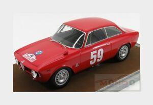 【送料無料】模型車 スポーツカー アルファロメオジュリアスプリントツールドコルスalfa romeo giulia 1600 sprint gta tour de corse 1966 tecnomodel 118 tm1860e mo