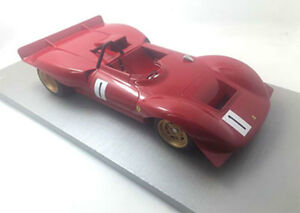 【送料無料】模型車 スポーツカー フェラーリディノ212e1rossfeld1969pschettytecnomodel 118 tm1837bferrari dino 212e 1 winner rossfeld 1969 pschetty red tecnomodel 11