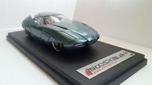 【送料無料】模型車 スポーツカー アルファロメオバットモデルスケールモデルalfa romeo bat 11 bertone yow model microsprint rare 143 scale resin model