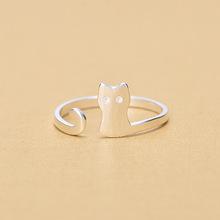 送料無料 猫 キャット リング 925スターリングuqbingベルuqbing classic 倉 待望 925 for sterling silver rings women
