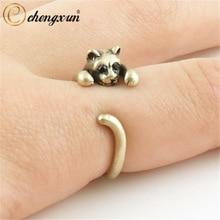 激安特価品 送料無料 猫 キャット 新品未使用 リング chengxunリバイバルラップネコ chengxun retro wrap women ring cat animal kitten for