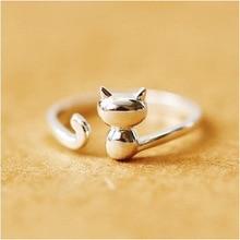 送料無料 猫 キャット ふるさと割 リング re 925スターリングre 925 sterling for オンラインショップ women gifts silver female cat best ring