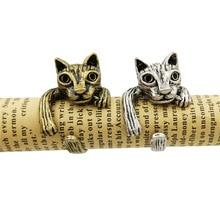 送料無料 猫 キャット リング lphzqhドロップシッピングヴィンテージjewelerylphzqh drop for women ring shipping 激安格安割引情報満載 お洒落 jewelery vintage