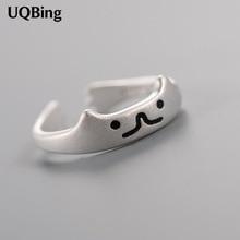 送料無料 猫 キャット リング 925スターリングuqbinguqbing オンライン限定商品 925 sterling women open ring silver cat セール価格 jewelry