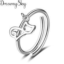 送料無料 猫 キャット リング dreamysky925スターリングベルdreamysky bijoux セール価格 925 women sterling for 買収 cat rings silver