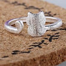 送料無料 猫 キャット リング パーティーシルバーリングeveroyal tjp 925 silver engagement 開店記念セール 高額売筋 for women rings party