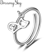 送料無料 猫 キャット リング dreamysky925スターリングベルdreamysky bijoux 925 cat sterling 直営限定アウトレット rings women silver 数量は多 for