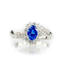 送料無料 優先配送 猫 セール特価 キャット リング fatpigキャットアイfatpig cat eye jewelry birthday crystal for blue women