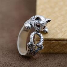 【送料無料】猫 キャット リング bestlybuy990スターリング925シルバーbestlybuy cute cat 990 sterling silver 925 silver for women