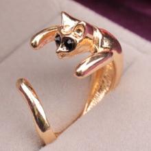 送料無料 価格 猫 キャット リング akolionネコカフスakolion small cat finger ストア open kitten rings reversible cuff