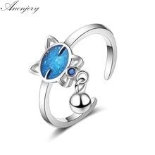 送料無料 猫 キャット リング 925スターリングanenjeryanenjery simple cute ring for silver 925 sterling women お得 通販 激安◆