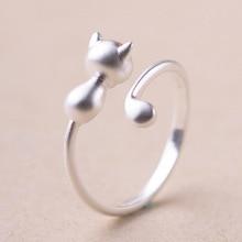 送料無料 猫 毎週更新 キャット リング 国内送料無料 ポンドリングreeti 925 sterling women for silver grind rings arenaceous