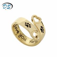 送料無料 猫 激安挑戦中 キャット リング 2018dongshengdongsheng 商い jewelry dogs women 2018 rings cats for paws