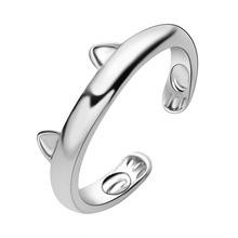 送料無料 猫 キャット リング 激安超特価 ロマンチックリングsiyi orea cute opening claw rings women romantic for 新商品 cat