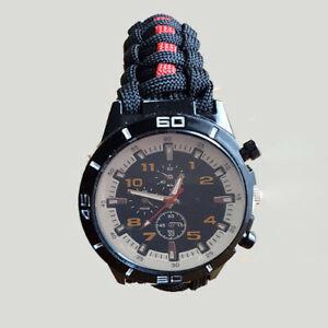 【送料無料】腕時計 エッジレッドラインバックル