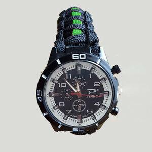 【送料無料】腕時計 エッジグリーンラインメディックバックル