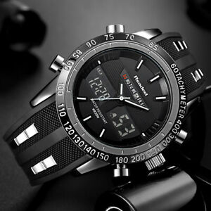 【送料無料】腕時計 ブラックデジタル