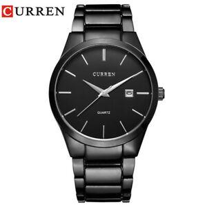 【送料無料】腕時計 アナログスポーツビジネスcurren luxury analog sports wristwatch business rare gift for him dad father son